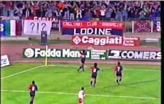 Oliveira esulta con i compagni per il 2-0 (F. Davide Zedda)